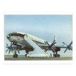 AVIÓN DE PASAJEROS de Aeroflot Tu 114 Tarjetas Postales
