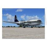 Avión de pasajeros de B377 Stratocruiser Felicitación
