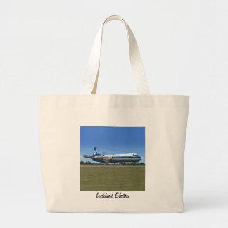 Avión de pasajeros de Lockheed Electra Bolsas De Mano