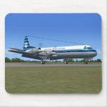 Avión de pasajeros de Lockheed Electra Tapete De Raton