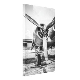 Avión de transporte Pratt y Whitney R-1890 del C-4 Impresiones En Lona Estiradas