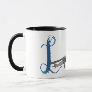 airplane of the love mug
