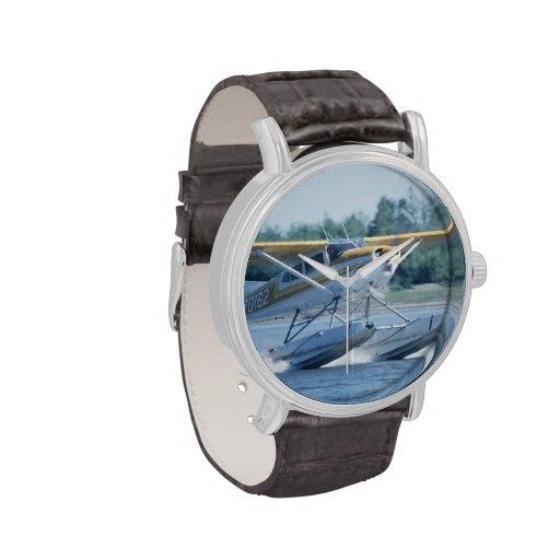 Avión del barco relojes de mano