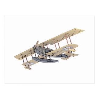 Avión del flotador de Curtiss Postales