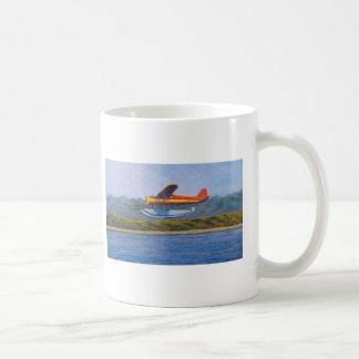 avión del flotador taza clásica