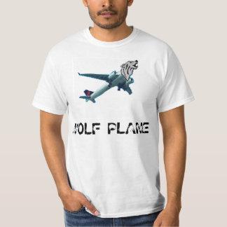 Avión del lobo playera