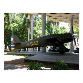 avión del revolución tarjeta postal