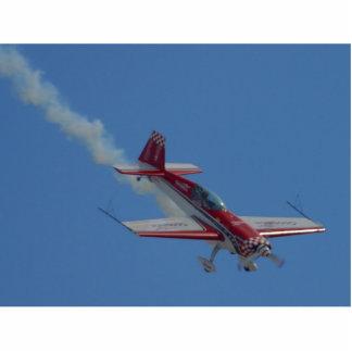 Avión del truco fotoescultura vertical