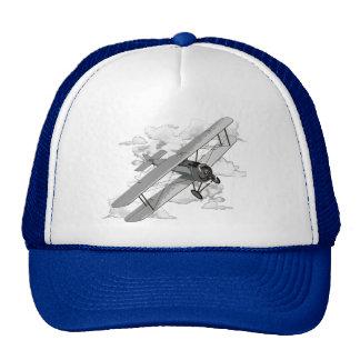 Avión del vintage gorra
