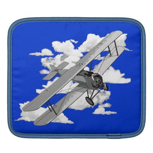 Avión del vintage manga de iPad