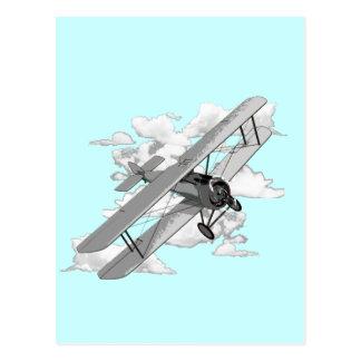 Avión del vintage postal