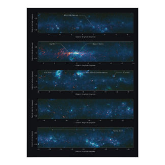 Avión galáctico según lo visto por la encuesta sob impresiones