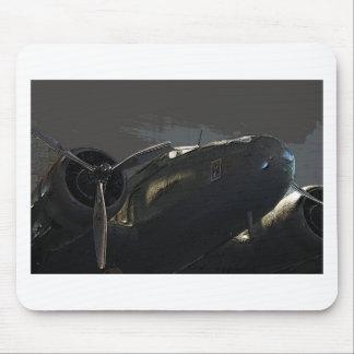 avión gemelo del motor tapetes de ratones