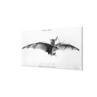 Avion III, 'The Bat' Canvas Print