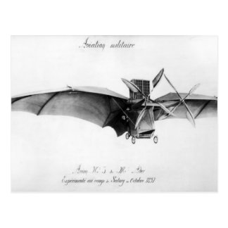 Avion III, 'The Bat' Postcard