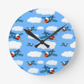 Avión inconsútil relojes