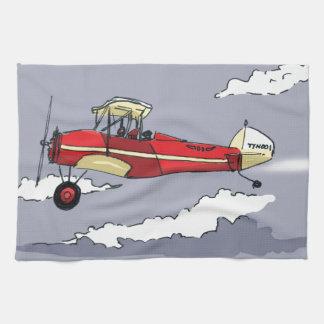 avión toalla
