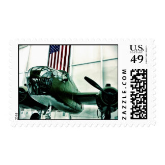 Avión patriótico de los militares WWII con la Envio