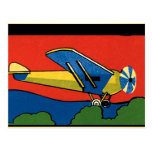 Avión retro de Deco Postales