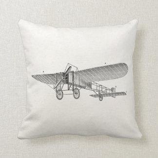 Avión retro del apoyo del aeroplano del propulsor almohadas