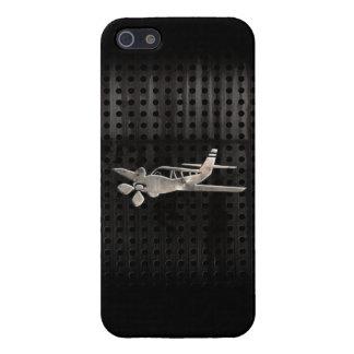 Avión rugoso iPhone 5 fundas