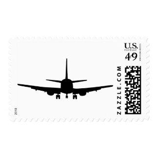 Avión Sellos Postales