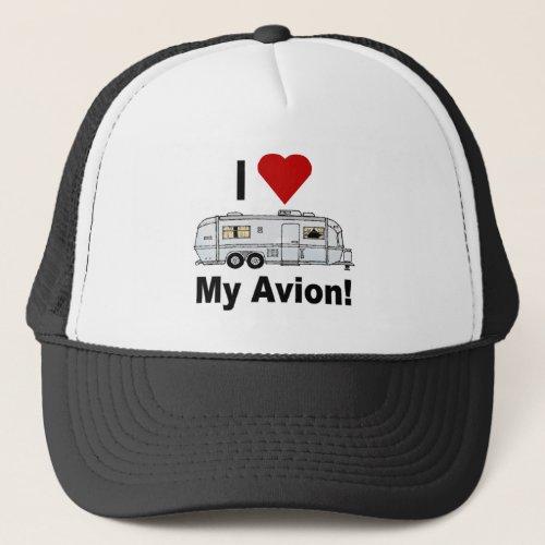 Avion Trailer Trucker Style Cap