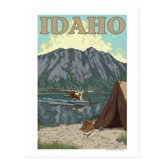 Avión y pesca - Idaho de Bush Tarjeta Postal