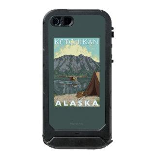 Avión y pesca - Ketchikan, Alaska de Bush Funda Para iPhone 5 Incipio ATLAS ID