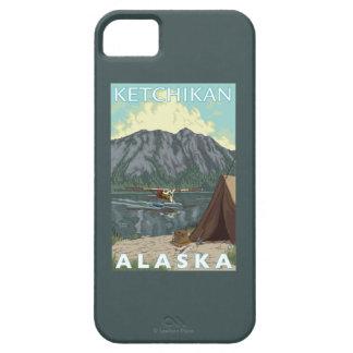 Avión y pesca - Ketchikan, Alaska de Bush iPhone 5 Funda