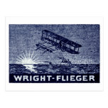 Aviones 1909 de los hermanos de Wright Tarjeta Postal