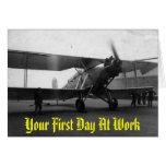 Aviones 1933, su primer día del vintage en el trab tarjetón