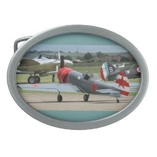 Aviones aeroacrobacias rusos hebilla cinturón oval