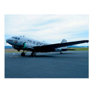 Aviones DC-3 Tarjeta Postal