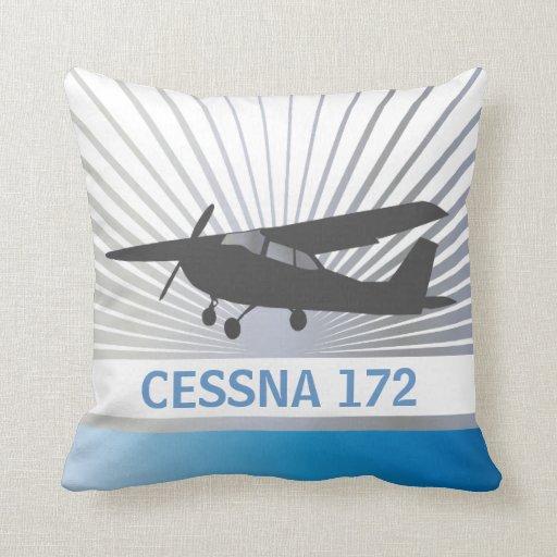 Aviones de ala alta almohadas