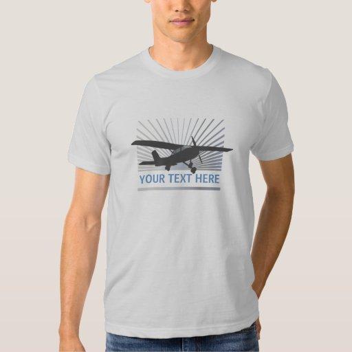 Aviones de ala alta poleras
