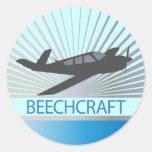 Aviones de Beechcraft Etiquetas