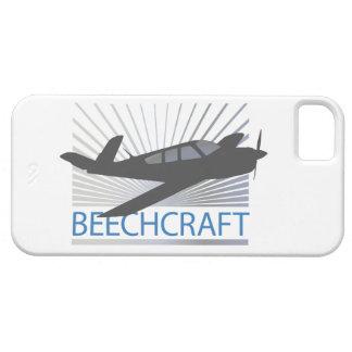 Aviones de Beechcraft iPhone 5 Carcasas