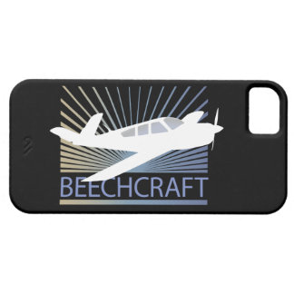 Aviones de Beechcraft Funda Para iPhone 5 Barely There
