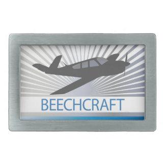 Aviones de Beechcraft Hebilla Cinturon Rectangular