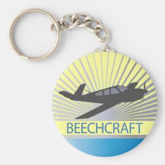 Aviones de Beechcraft Llaveros Personalizados