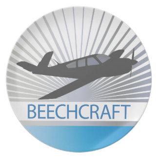 Aviones de Beechcraft Plato De Comida