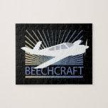 Aviones de Beechcraft Rompecabezas