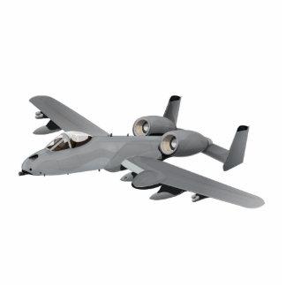 Aviones de bombardero A-10 Adorno Fotoescultura