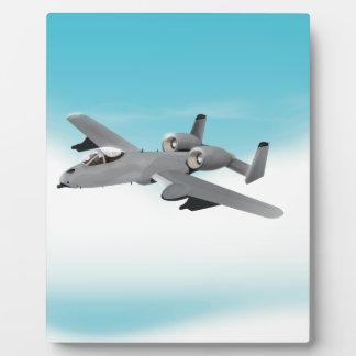 Aviones de bombardero A-10 Placa
