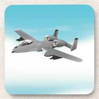 Aviones de bombardero A-10 Posavasos