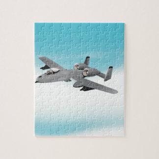 Aviones de bombardero A-10 Puzzle