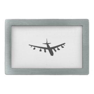 Aviones de bombardero hebilla de cinturón rectangular
