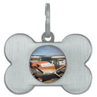 Aviones de Cessna Placa De Mascota