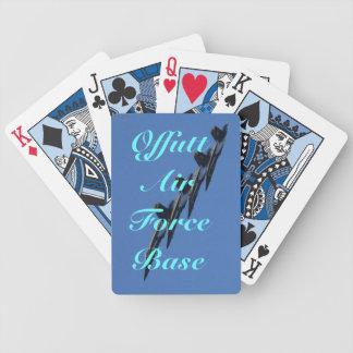 Aviones de combate baraja cartas de poker